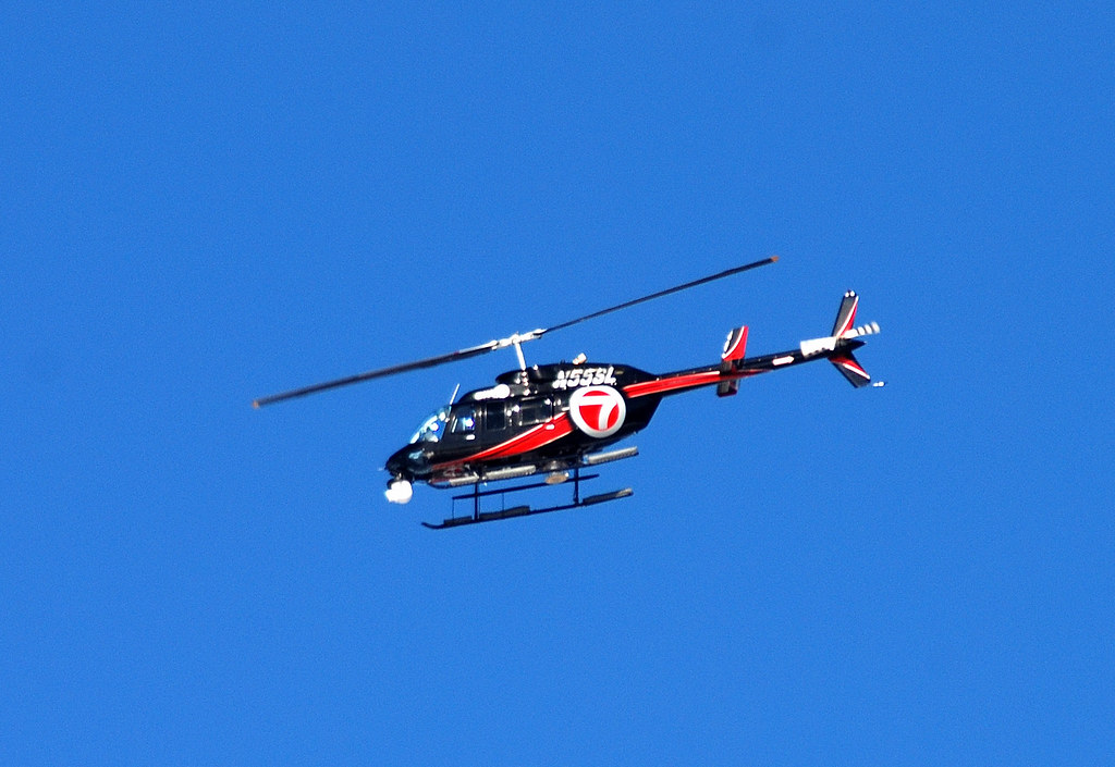 WHDH-TV Sky 7   Bell 206 L-4 Ranger   jelpics   Flickr