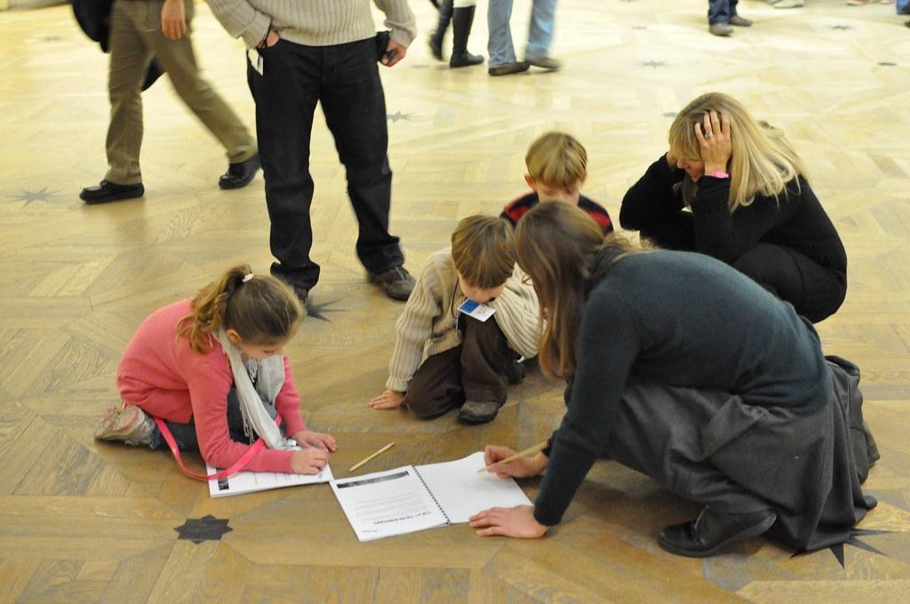 Children program in the Louvre