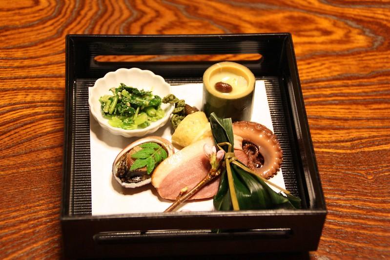 Ryokan Kikokuso - dîner Kaizeki - Kaizeki dinner