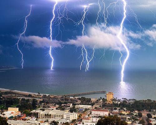 Ventura Lightning Storm | by Amery Carlson