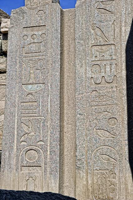 Torstein im Karnaktempel