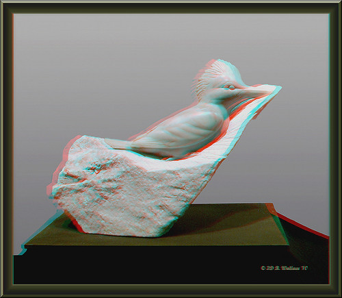 sculpture art festival stereoscopic 3d md brian anaglyph carving indoors stereo wallace inside easton stereoscopy stereographic ewf brianwallace stereoimage stereopicture massryland eastonwaterfowl