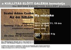 2011. január 4. 13:19 - Szabó Ádám Csaba: Az én hibám