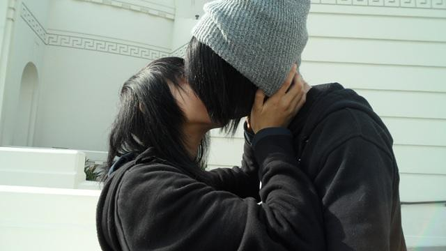 Gf kissing my How to