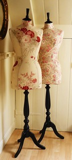 kimberley and kate mannequins  corset laced mannequins in