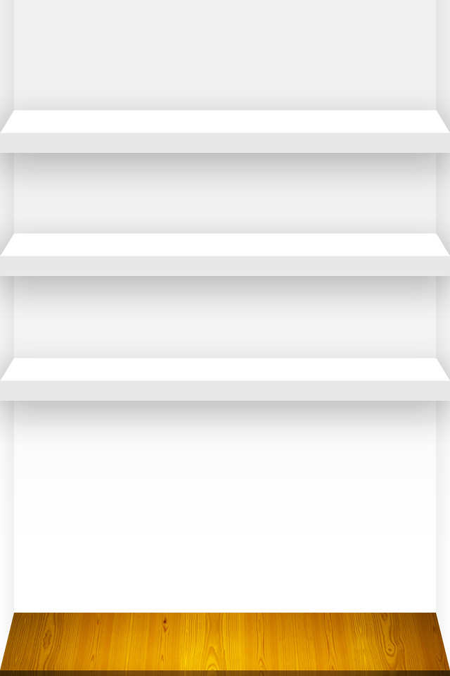 3 Shelf Iphone Wallpaper White Click A Link For The Full 4