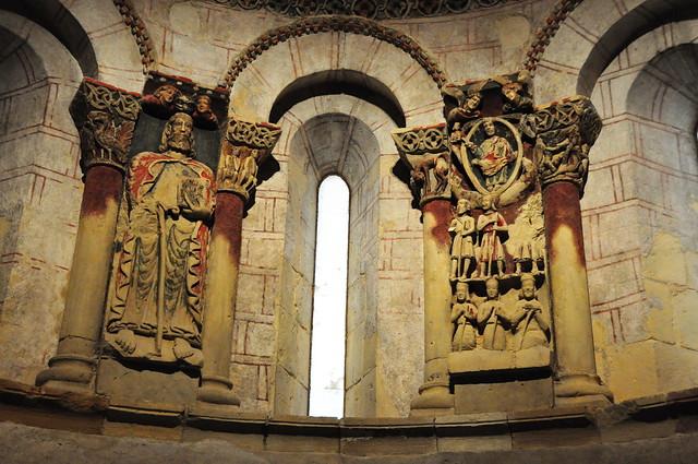 109 - Retablos Santiago y Pantocrátor - Iglesia Santiago - Turégano (Segovia) - Spain