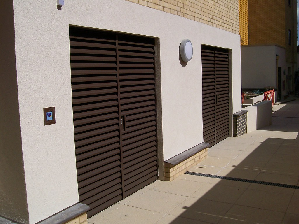 External Louvred Plantroom Doors Nationwide Louvre Company Flickr