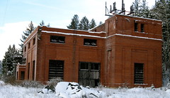 Ravenna Substation,Milwaukee Road,Montana.
