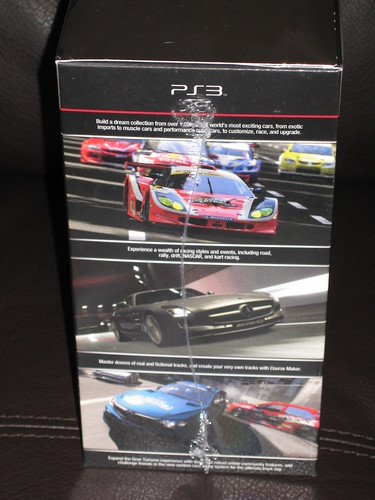 Playstation 3 - GRAN TURISMO 5 - collector's edition MISB (side) | by OpTILLmus