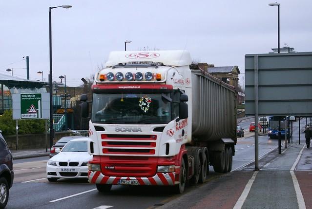 Scania R420-G.A.SMITH Felton Morpeth Northumberland