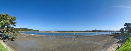 blue newzealand panorama beach canon sand ixus ngunguru