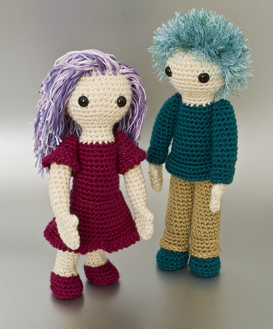 Crochet Amigurumi Girl With Blond Ponytail – ArcheaMystic | 640x531