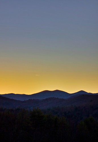 sunset mountains hdr blueridge northgeorgia