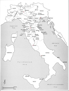 Political Map of Renaissance Italy   arthistory390   Flickr on black and white venice italy, black and white italy map regions, black and white printable map of greece,