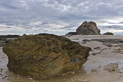 sunset beach rocks australia tokina nsw lowtide vallabeach d7000