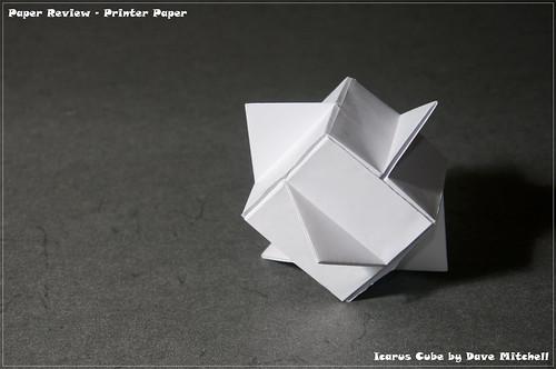 Printer/Copy Paper Review - Icarus Cube | by garibi ilan