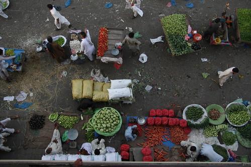 green vegetables fruit market outdoor top mandi sabzi islambad