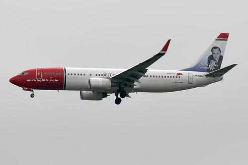 Norwegian, LN-DYM, Boeing 737-8JP | by Anna Zvereva