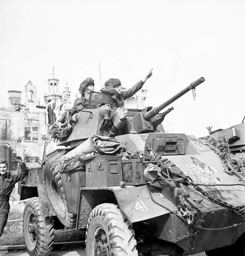 Humber Armoured Car, Normandy
