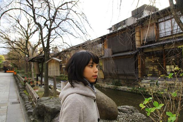 At Shirakawa Canal