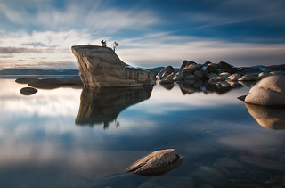 Zen and the Art of Wasting Time - Bonsai Rock, Lake Tahoe, Nevada | by kendra is coming out stronger