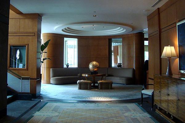 Ritz Carlton Battery Park Hotel in New York
