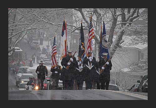 christmasparade abingdonvirginia militarymarchers