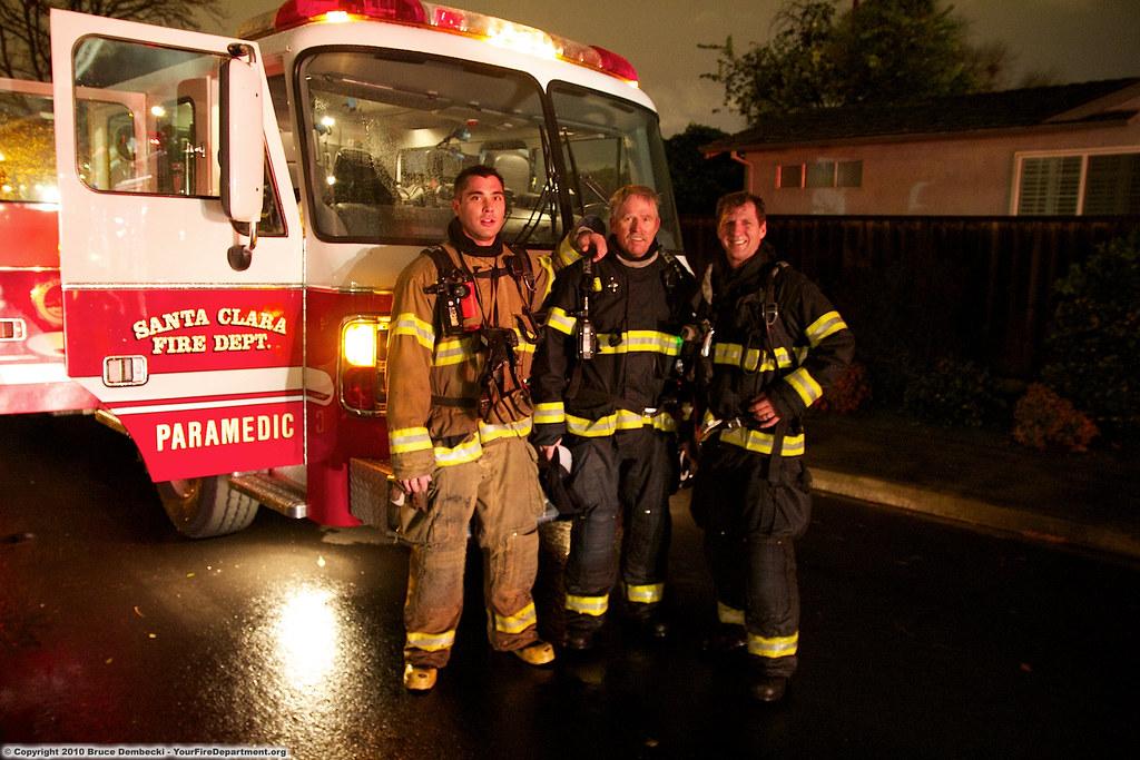 SNC Engine 1 and crew | Santa Clara Fire Department responde