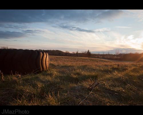 winter light sunset sky evening massachusetts newengland tire discarded littleton project365