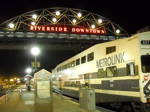 Downtown Riverside Metrolink Station
