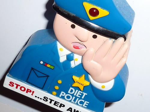 Diet Police fridge magnet | by lydia_shiningbrightly