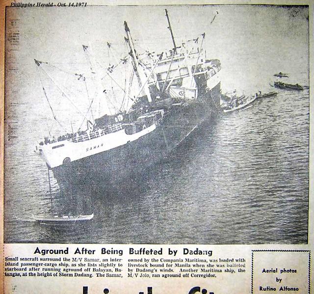 1971 MV Samar