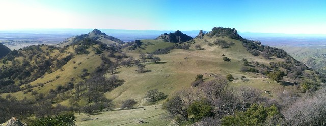 Sutter Buttes - Panorama from AutoStitch