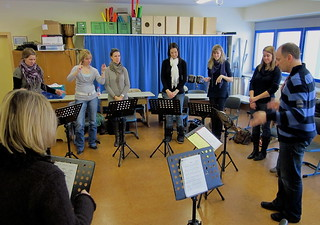 Hubert Seminar Action songs Januar 2011