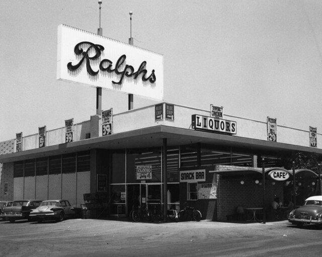 Los Angeles 1960s Ralphs