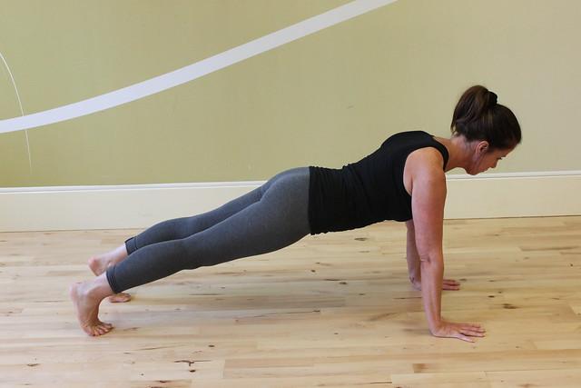 Kumbhakasana Plank pose