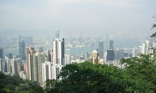 Hong Kong from Victoria Peak (2006)