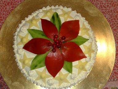 Torta Salata Stella Di Natale.Torta Di Tramezzini Con Stella Di Natale Vi Mostro Uno Deg Flickr