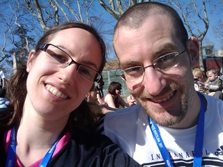03/05/2011: Lindsey and Alex after the race | by Lindsey Kuper