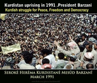 Raparin Kurdistan  .  Kurdisah uprising in 1991