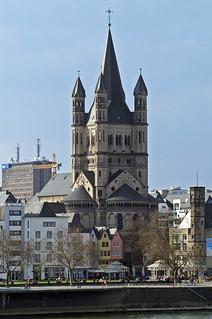 Groß St. Martin Köln | by Rolf H.