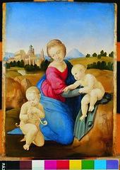 2005. november 17. 13:23 - Raffaello Santi: Esterházy Madonna