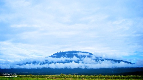 Popocatépetl en las nubes