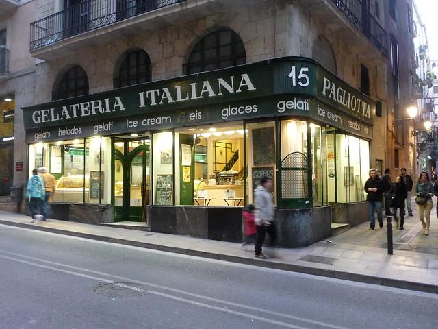 Gelateria italiana Pagliotta - Barcellona