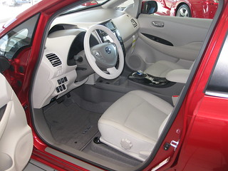 2011 Nissan Leaf   by chrishammond