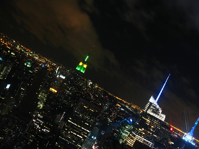 Empire State Building from the Rockefeller