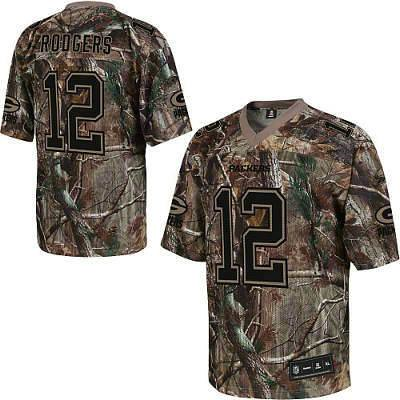 Green Bay Packers #12 Aaron Rodgers Realtree Camo Jersey | Flickr