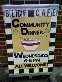 Original BLCF Cafe Sign