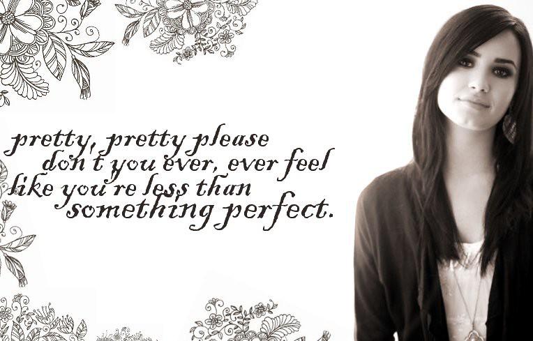 You're Perfect To Me | (lyrics change)